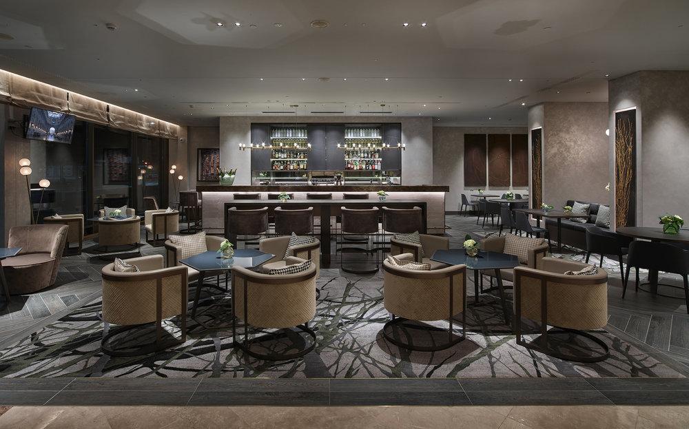 Hilton Milan Hotel Lobby Bar