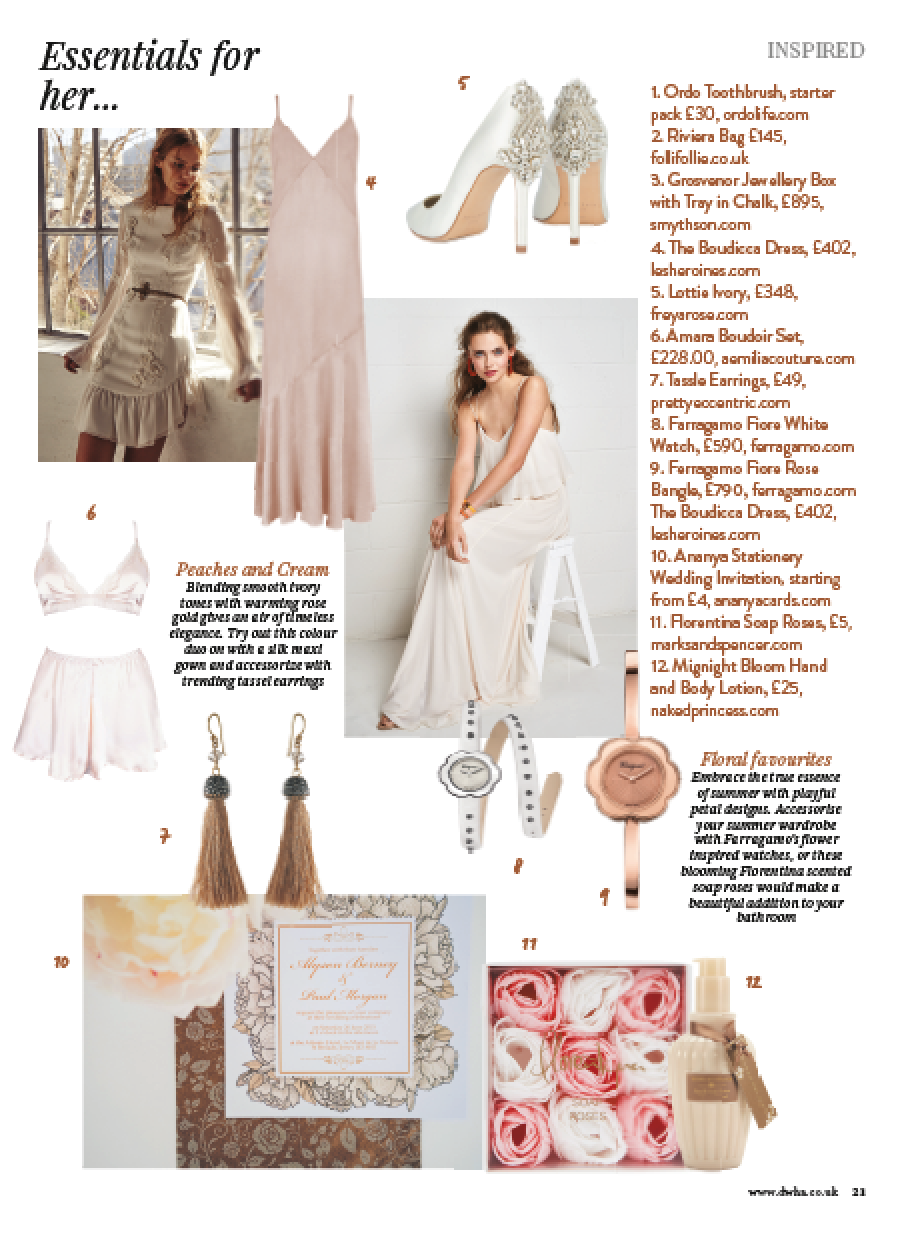 Press feature aemilia couture
