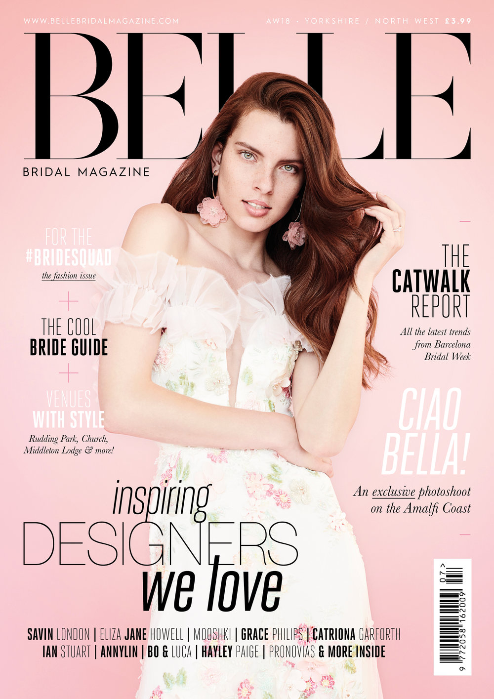 belle bridal feature