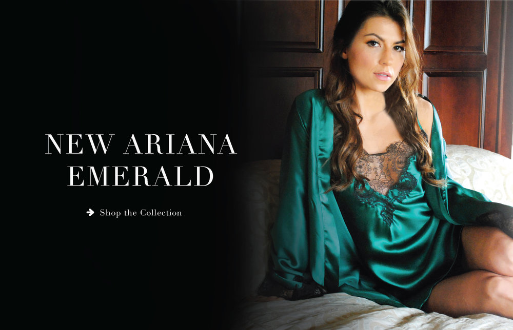 ARIANA EMERALD A/W18 COLLECTION