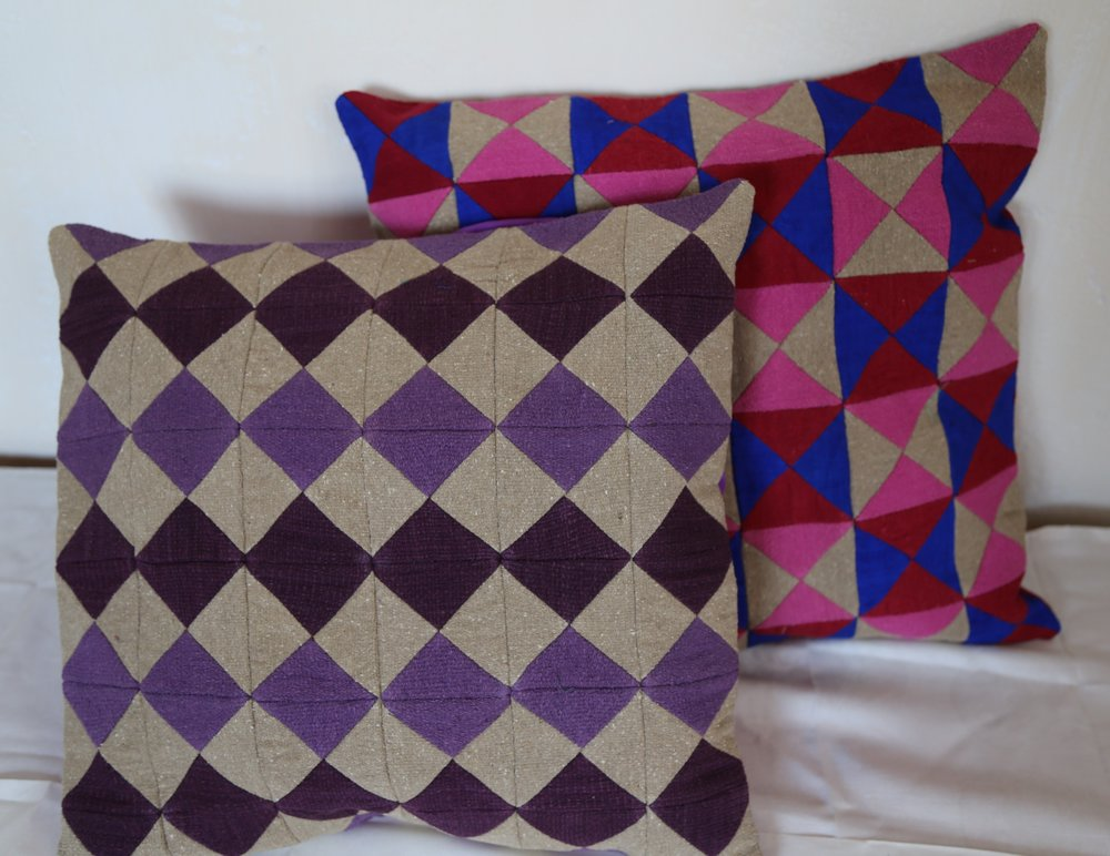 tessellation pillow case