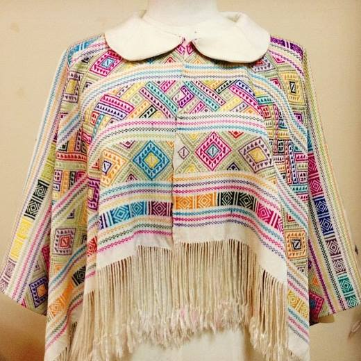 cotton cape shrug