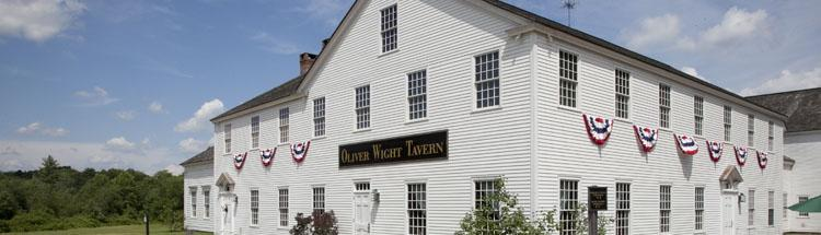 Oliver Wight Tavern    @   Old Sturbridge Village