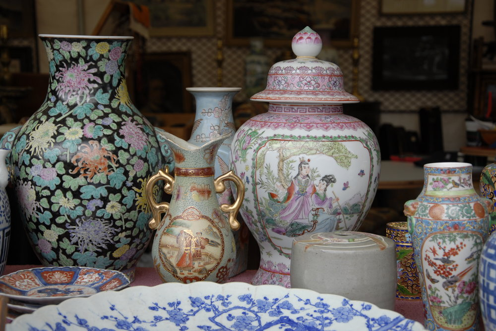 Round Top Antique Auction