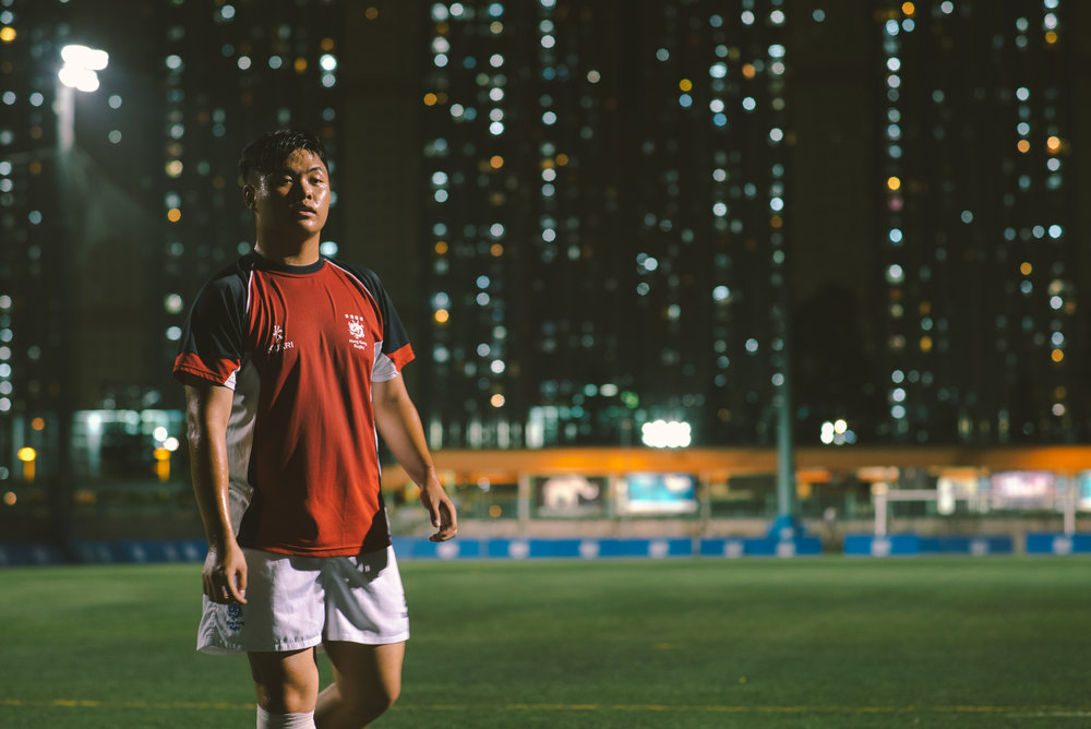 From in between the skyscrapers of Hong Kong –Rugby Alpha. Picture by Li Wai Nap.