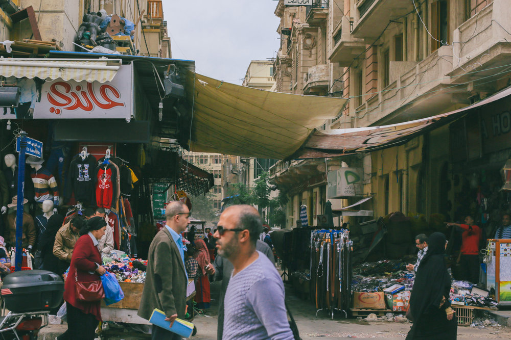 From the streets of Alexandria, Egypt. Picture by Elijah Dobner.