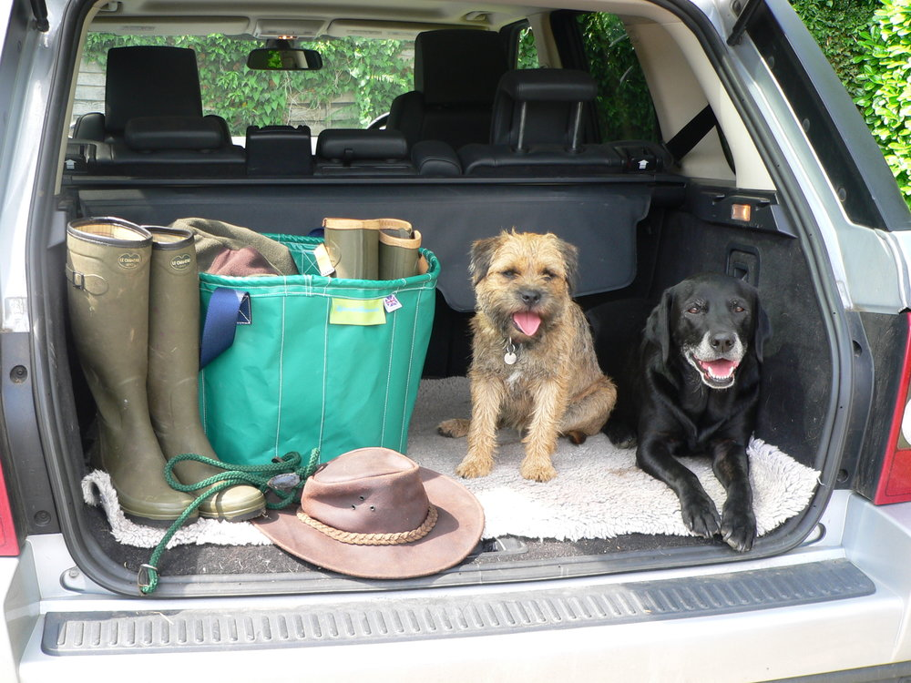 Our waterproof KaboodleBag is fantastic for muddy wellies and walking boots - Keep your Car boot tidy and clean!