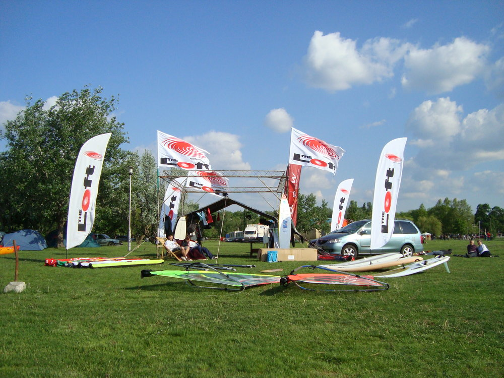 Szörfbázis Hal-Vad fesztivál Agárd 2009