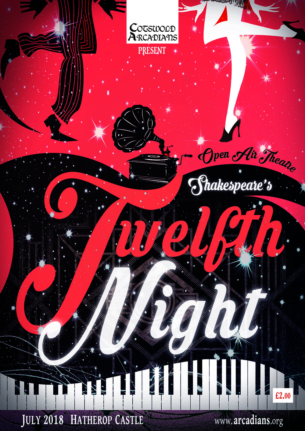 Twelfth Night Programme Cover