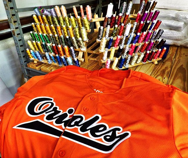 Let's all play like champions today because it's the weekend! ⚾️⚾️⚾️ check out our #custom baseball jerseys for the Charleston Orioles! ••• #oconnorinc #monogram #embroidery #custom #charleston #ff #instafollow #l4l #followme #tag4likes #followback #love #baseball #localteam #shoplocal #sc #southern #athletic #finallyfriday #helloweekend #bestdayever