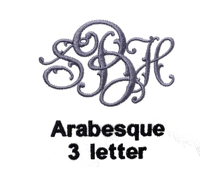 Monogram Letter Fonts Styles