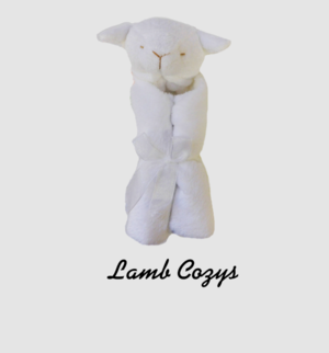 Monogrammed personalized baby gifts charleston sc oconnor lamb baby cozy negle Images