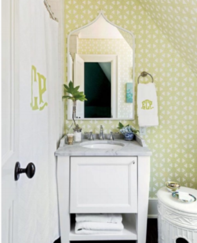Custom Monogram Shower Curtains - Charleston SC | O\'Connor ...