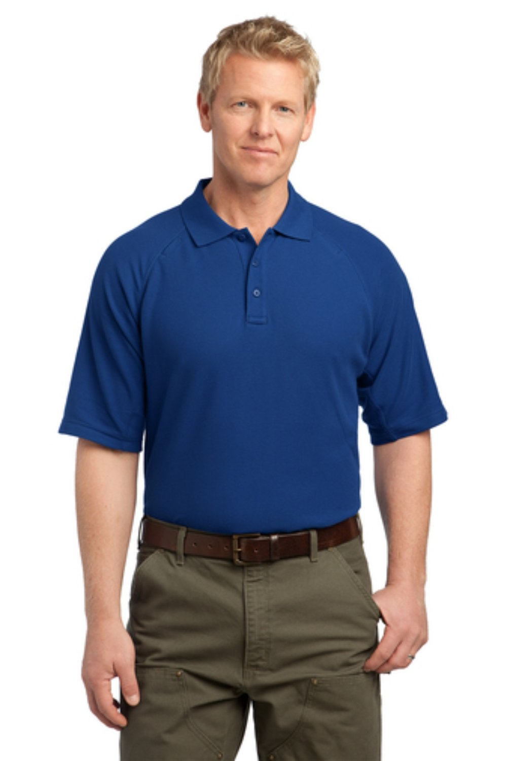 CS414  Corner Stone Cotton Tactical Polo.  $29.00