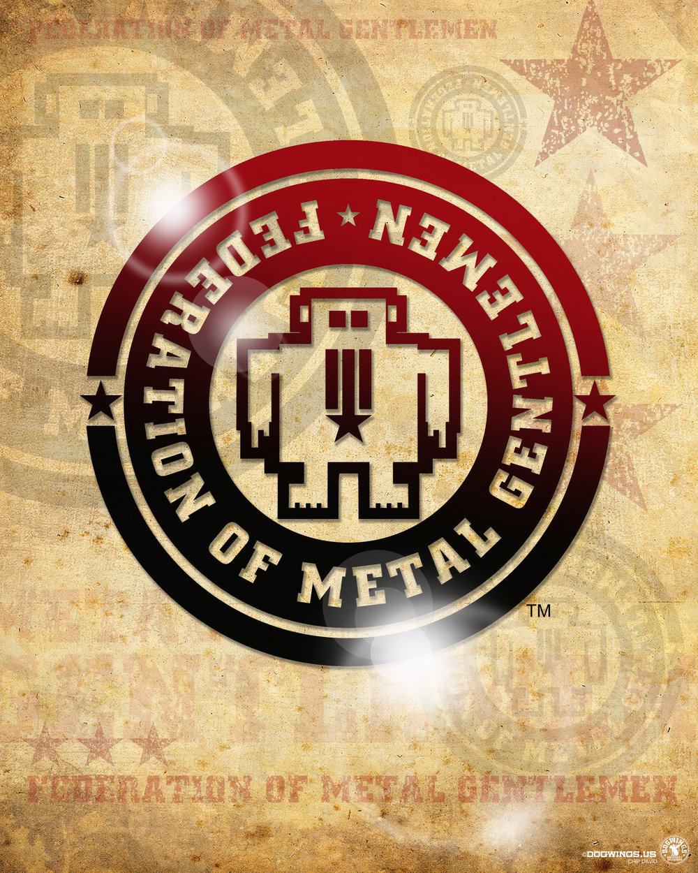 FEDERATION OF METAL GENTLEMEN:LOGO