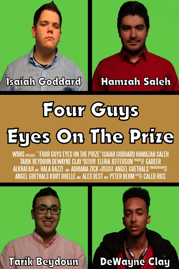 Four Guys Eyes On The Prize - Four friends are tired of being