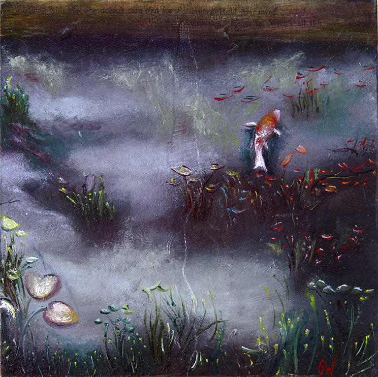 An ODe to Monet (Koi Pond)
