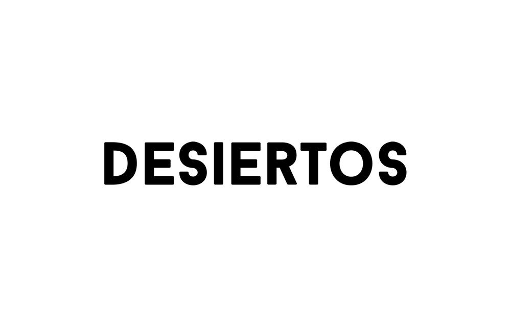 Logotipo Desiertos