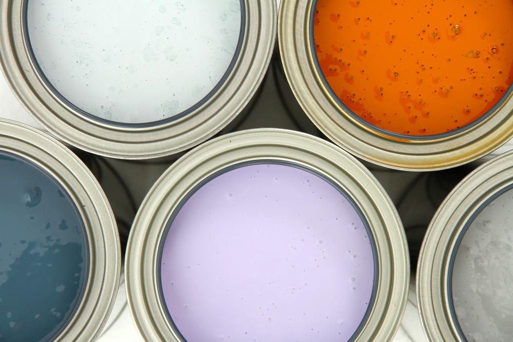 Beautiful paint colors transform plain walls into cozy rooms and inviting living spaces throughout.
