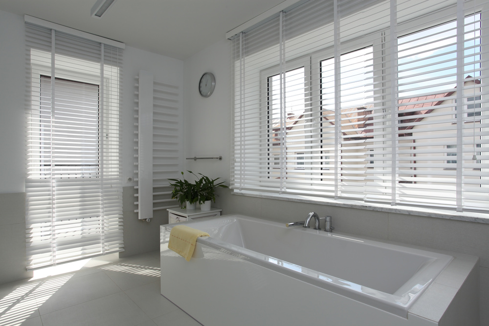 Bathroom Tub Shutters and Blinds