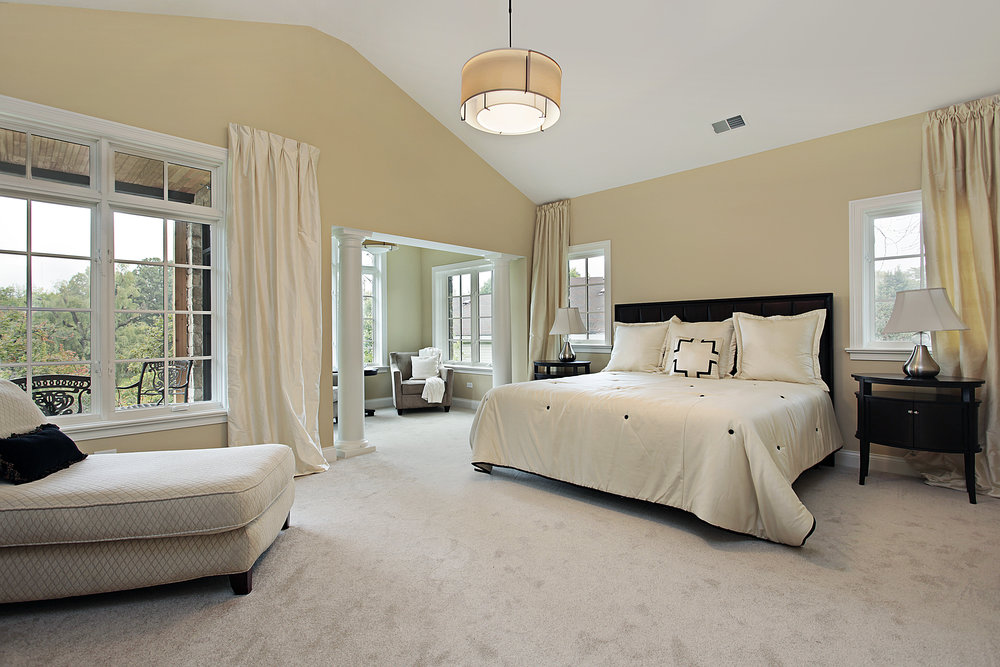 Interior Designer Services for Master Suites. Custom Drapery and Window Treatments.