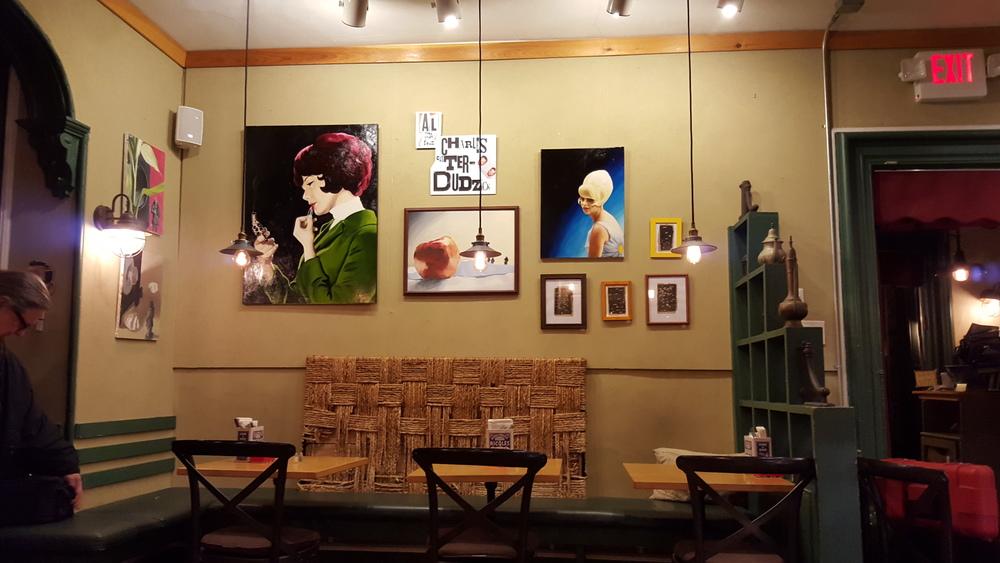 Art Cafe, Nyack, January 2016 Gallery