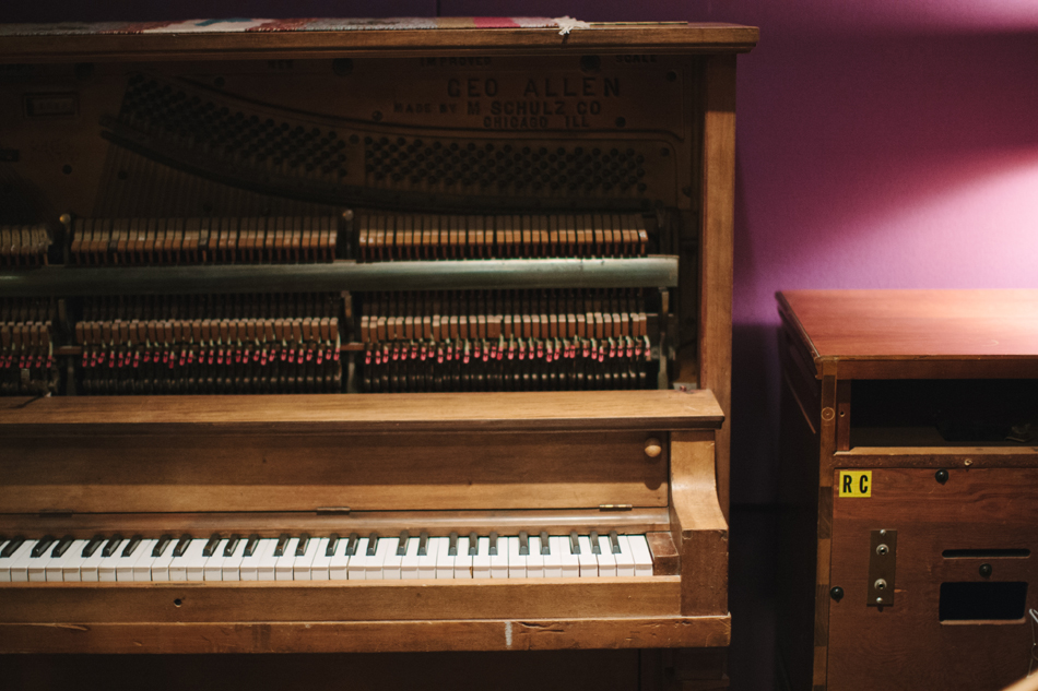 Upright Piano // Studio A