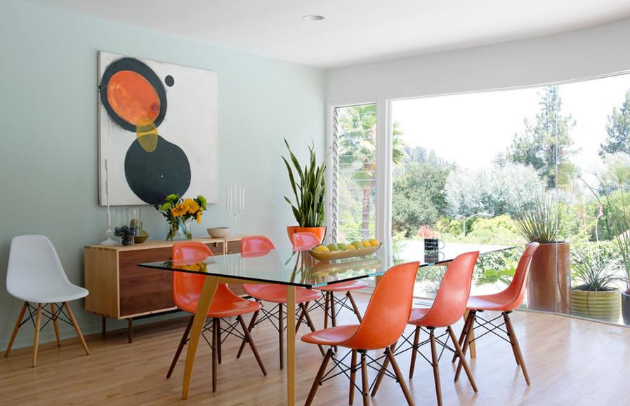 Blake Civiello Mid-Century Dining Room on leenB.com