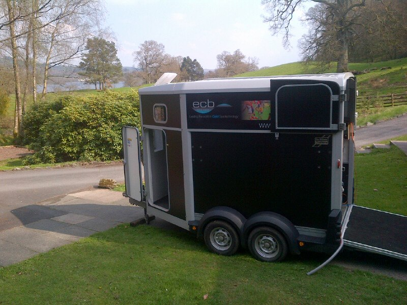 ECB Mobile Spa at Brathay Marathon