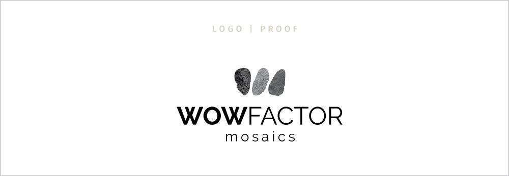 wowfactor mosaics logo proof