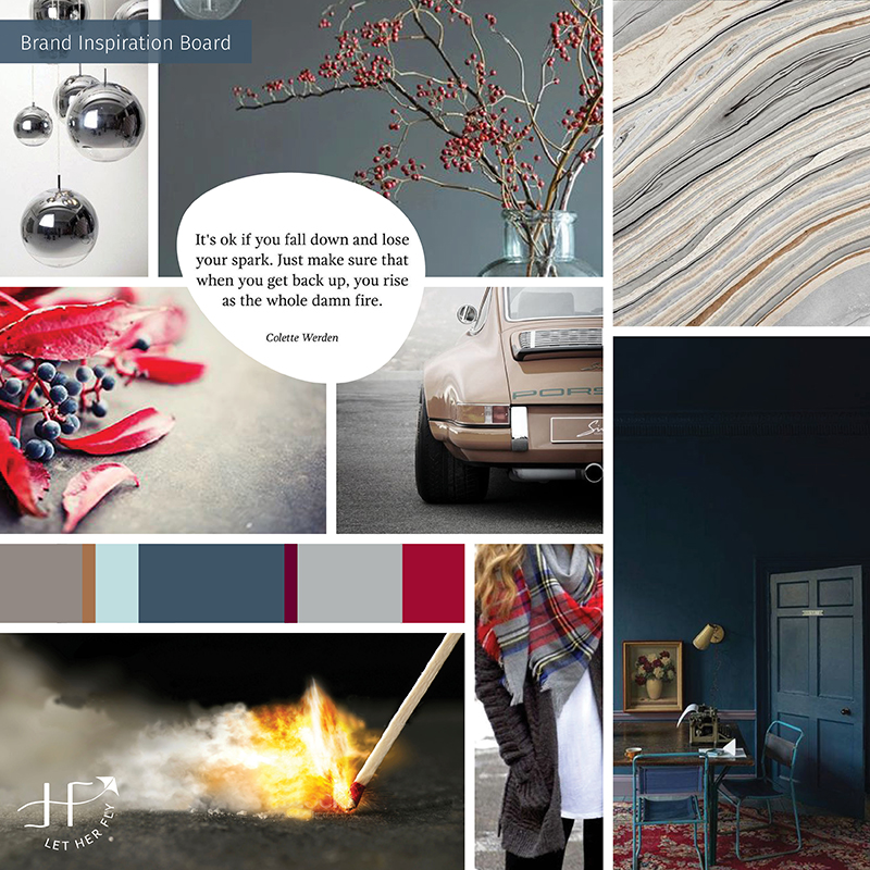 design inspiration board client wrong