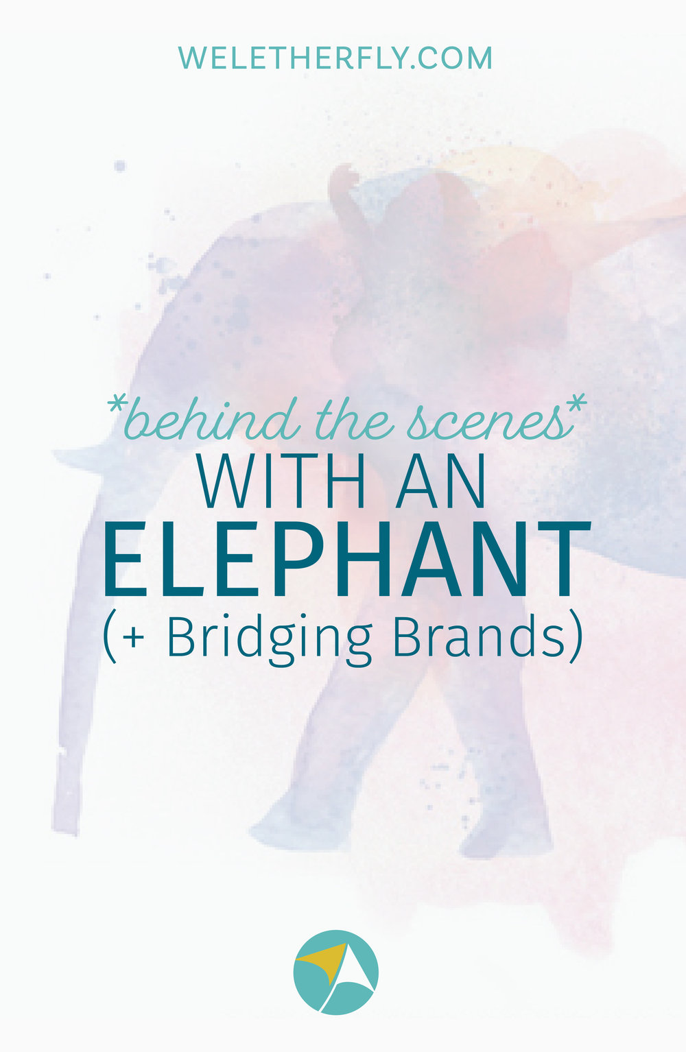 Behind the Scenes with an Elephant, Bridging Brands with Gillian Goerzen, by Michelle Clayton of Let Her Fly