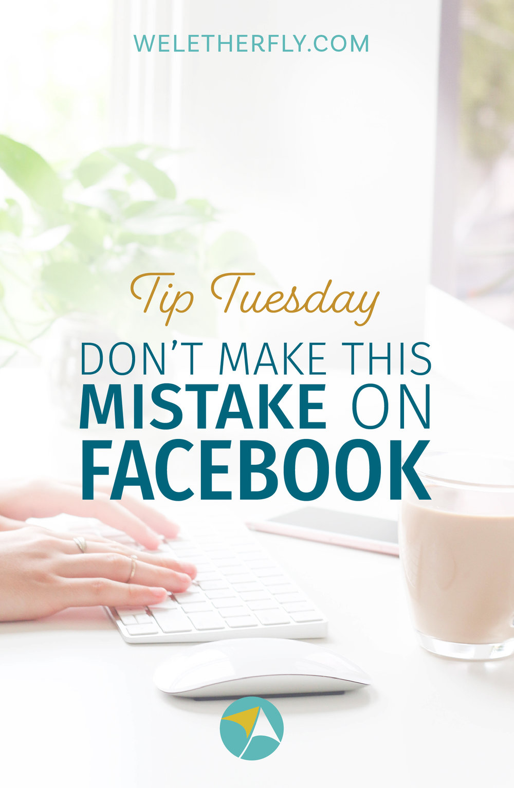Don't make this mistake with your Facebook banner dimensions by Michelle Clayton of Let Her Fly