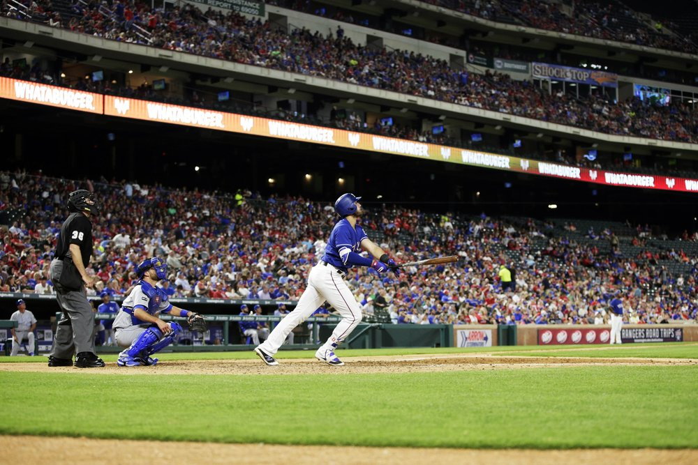Joey Gallo hits a home run.