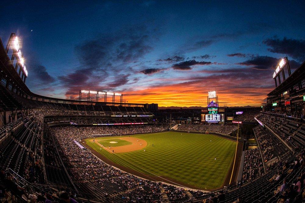 Colorado Rockies play at home.