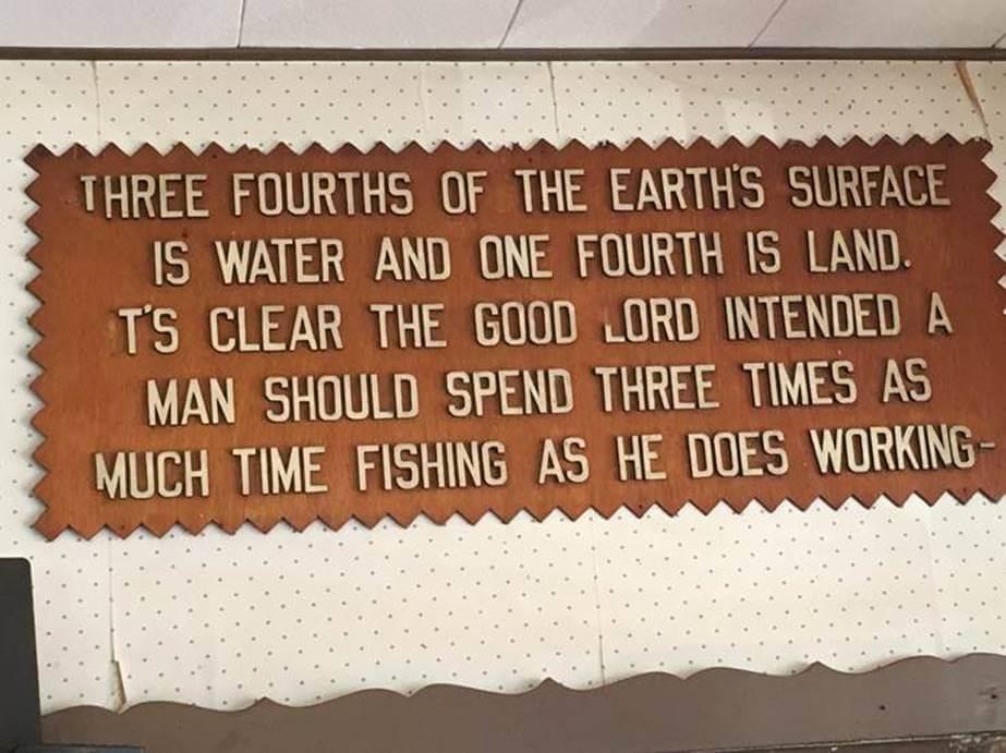 Fishing Three Times As Much
