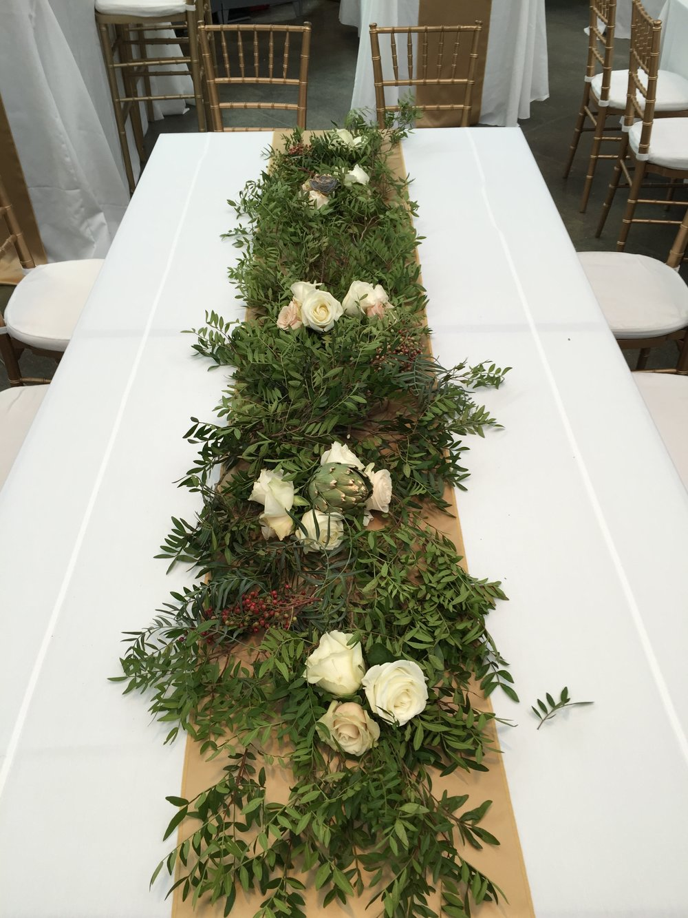 Malloy Events _ Currier Museum of Art _ Weddings _ Wedding florist _ Centerpiece