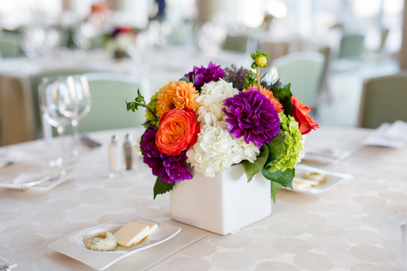 Reception floral design