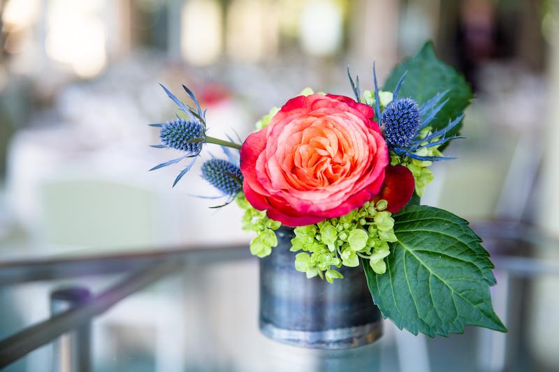 Cocktail hour floral design