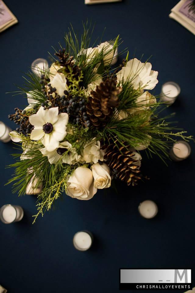 NH floral centerpiece detail