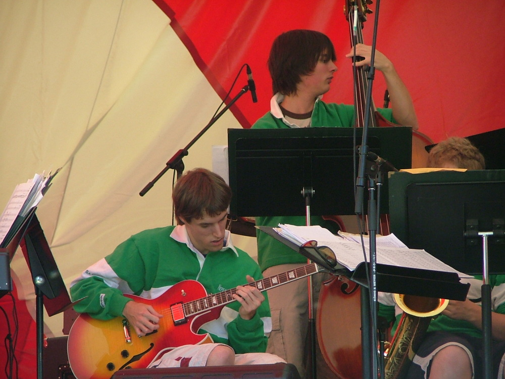 A performance with the Nepean All-City Jazz Band featuring Lucas Haneman & Alex Mastronardi