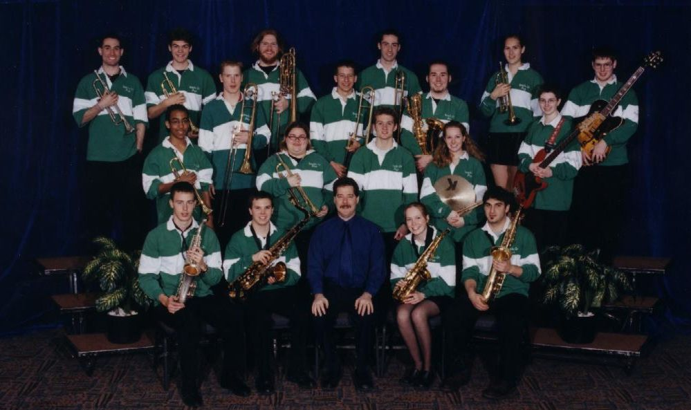 A group photo of the Nepean All-City Jazz Band