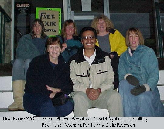 HOA Board in 2001