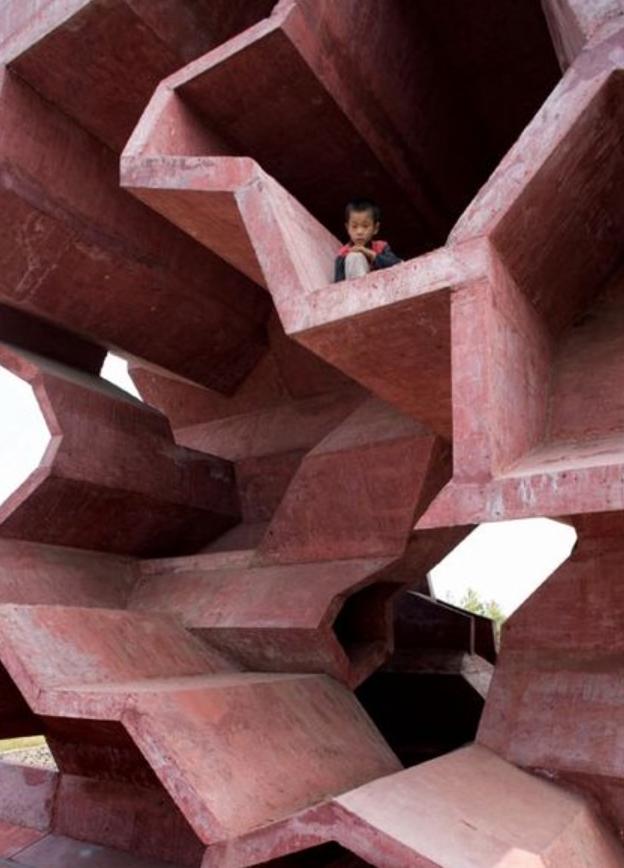Jinhua Architecture Park by Herzog & De Meuron