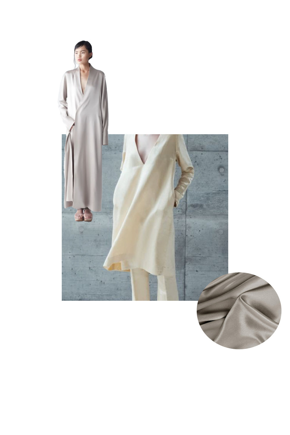 Centre Image:   Coltrane   Cut Out Image:  Yael Dress Coat | NEEMIC  | NOT JUST A LABEL