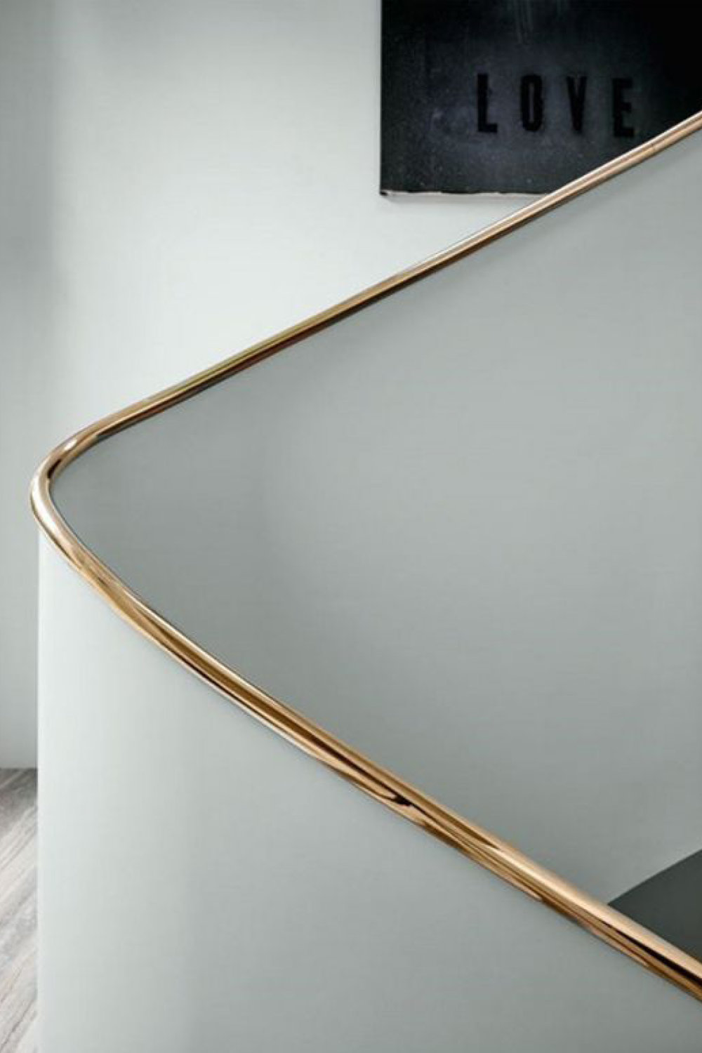 Copper Handrail Detail via  Pinterest