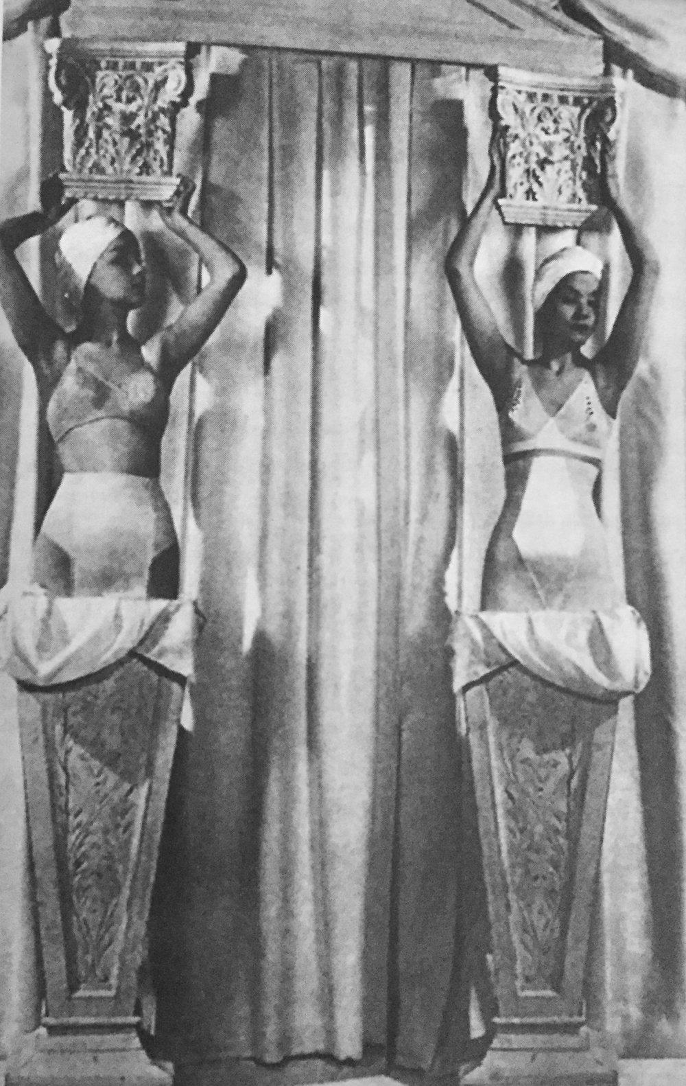 Advertisement in Vogue  1939