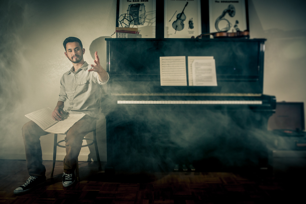 Daniel Ciurlizza Ken Lew Photography Piano Smoke