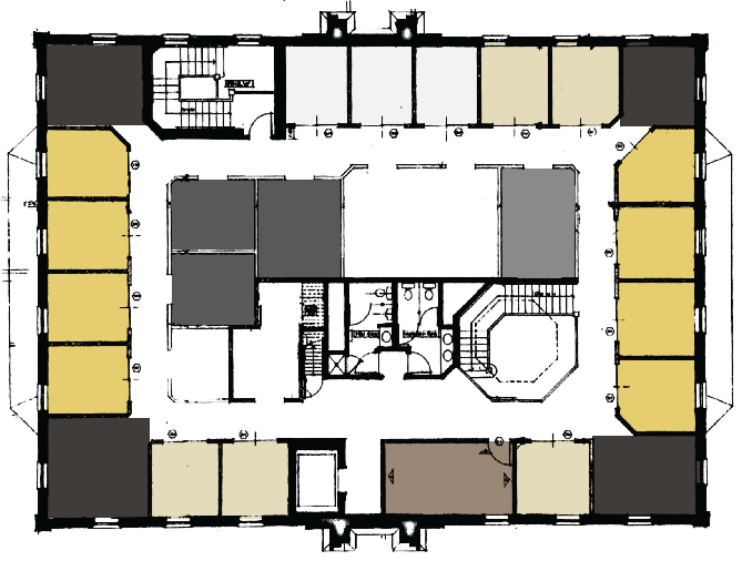 The Colonial Luxury Offices Floor Plan + Pricing