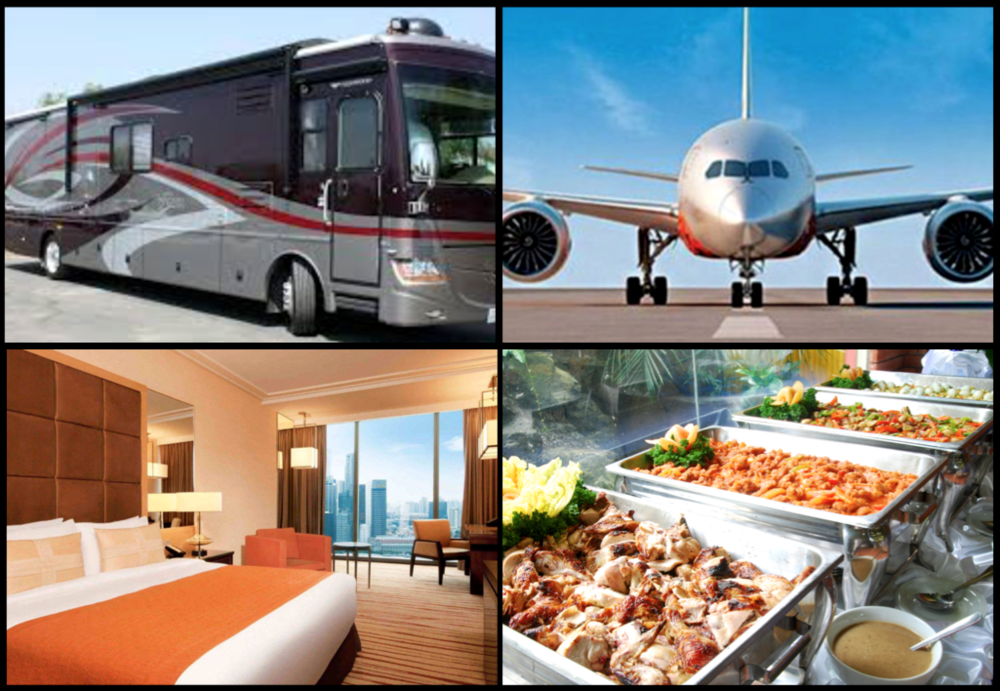 Travel, Catering & Transportations -